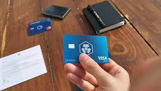 The MCO Visa Crypto Card UK Unboxing - More UK Cashback And Crypto Currency Investing