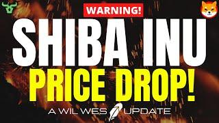 SHIBA INU PRICE DROP!!! Is This The Last Dip Before The Next SHIBA Surge? (Watch in 24Hrs!)