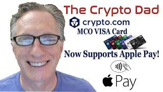 Crypto.com MCO VISA Card Now Supports Apple Pay, Google Pay, & Samsung Pay