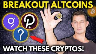 BREAKOUT ALTCOINS TO WATCH IN APRIL! Plus Dollar-Cost Average into These Cryptos