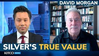 What's the 'true' price of silver? How can price break out? David Morgan answers