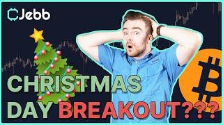 CHRISTMAS DAY BITCOIN BREAKOUT!! - THIS PATTERN PREDICTS A HUGE BITCOIN MOVEMENT