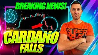 CARDANO FALLS! (But Did You See This Huge ADA vs. ETH News?!)