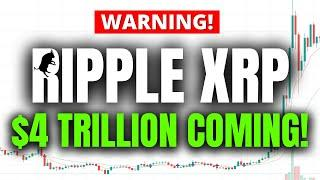 Ripple XRP IT'S HAPPENING!!! $4 TRILLION DOLLAR STIMULUS PLAN COMING! (PREPARE NOW!)