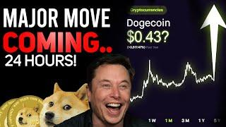 MAJOR MOVE COMING TO DOGECOIN WITHIN 24 HOURS? (POSSIBLE MAJOR MOVE COMING! ALL HOLDERS WATCH!