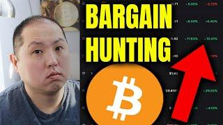 BARGAIN HUNTING ALTCOINS DURING BITCOIN RALLY