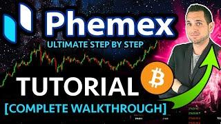 PHEMEX TUTORIAL: How to Trade Bitcoin with Leverage [COMPLETE Walkthrough & Review]