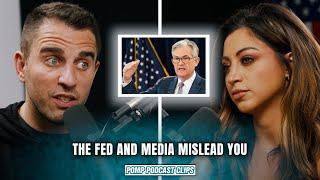 The Fed and Financial Media Mislead You! | Jessica Vaugn | Pomp Podcast CLIPS
