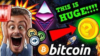 HOLY SH!!T!!!! THIS IS MASSIVE FOR BITCOIN!! ALTCOINS ABOUT TO GO PARABOLIC!!!!!!!