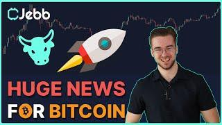 HUGE FUNDEMENTAL NEWS FOR BITCOIN - THE NEXT STEP IN ADOPTION HAS BEEN TAKEN!!!