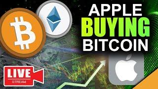 Apple Buying Bitcoin & Ethereum (The Path to $1 Million Revealed)