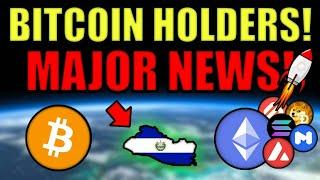 BREAKING NEWS: El Salvador To Make Bitcoin LEGAL TENDER (First Country Ever)! Eth Supply 2-Year Low!