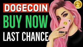DOGECOIN WHY I AM BUYING! LAST CHANCE TO BUY DOGE!! LATEST BREAKING NEWS & UPDATES!