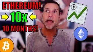 10x in 10 Months! ETHEREUM LIFE CHANGING OPPORTUNITY! Raoul Pal DOUBLES DOWN ETH PRICE PREDICTION!
