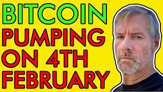 BITCOIN PRICE WILL SKYROCKET AFTER FEBRUARY 4TH!! [Bullish Crypto News]