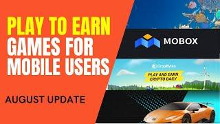 Best Play to Earn Games That You Can Play in Mobile | Blockchain Games Tutorial