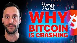 TRADER EXPLAINS WHY BITCOIN & CRYPTO ARE CRASHING AND WHEN IT WILL STOP