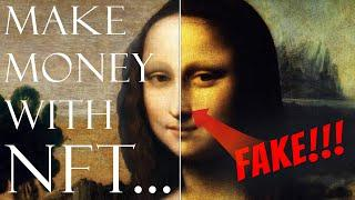 How You Can Make Millions With Digital Art (NFTs) !!??