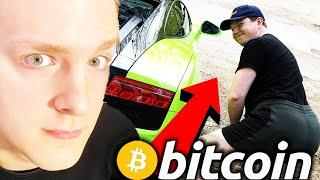 MAKING FORTUNE WITH BITCOIN!! Weird Millionaire Interview (That Martini Guy) Crypto, Defi, YouTube
