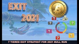 ULTIMATE CRYPTO EXIT PLAN. MY 7 TIER PROFIT TAKING STRATEGY FOR THIS BITCOIN ALTCOIN BULL RUN (2021)