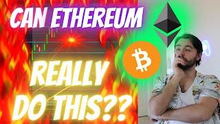 ETHEREUM *ERUPTION* HASN'T EVEN BEGUN! - WHAT IS HAPPENING WITH BITCOIN!?! [WHY ETH IS EXPLODING]