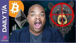 BITCOIN & ETHEREUM BEAR TRAP IS SET, AND THE BULLS WILL FINISH HIM!