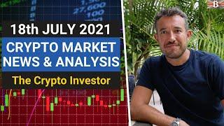 Crypto Market News & Analysis   (July 18th): When Will the Market Recover?