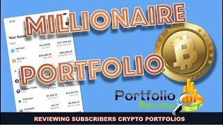 3 MILLION DOLLAR FUTURE BITCOIN & CRYPTO HOLDINGS. REVIEWING SUBSCRIBERS PORTFOLIOS.