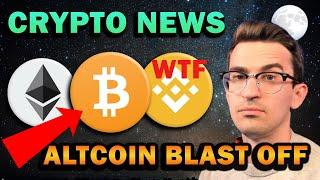 MASSIVE CRYPTO NEWS!! This is crazy...