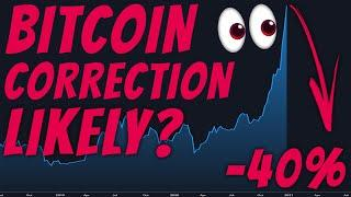CRITICAL!?! HOW LIKELY IS A MASSIVE BITCOIN CORRECTION NOW???