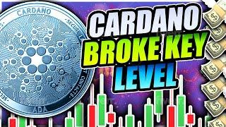 CARDANO CRASH BEFORE PUMP TO $1.00!!! ETHEREUM BACK TO $700!!??