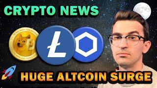 CRYPTO NEWS - ALTCOIN SURGE IMMINENT!!