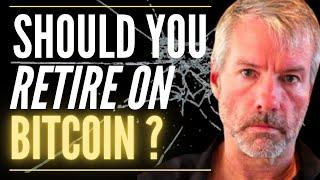 Michael Saylor Reveals the Secret to How to Retire on Bitcoin | BTC Interview 2021