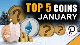 Top 5 Coins Ready To BREAK OUT (My January Crypto Picks)