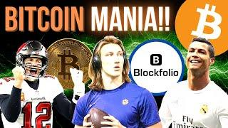 BITCOIN MANIA IS TAKING OVER THE SPORTS WORLD!!