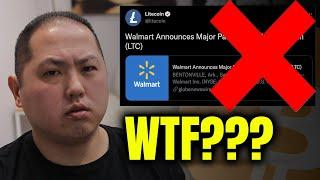 BITCOIN DUMP CAUSED BY FAKE NEWS | IS LITECOIN RESPONSIBLE?