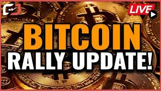 MAJOR Bitcoin Rally Update!! Giant Federal Reserve Announcement Incoming. Coffee N Crypto LIVE!