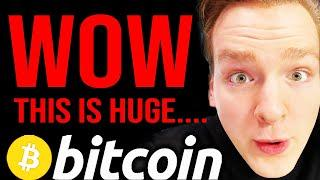 WATCH BEFORE MONDAY!!! BITCOIN ABOUT TO SHOCK EVERYONE BIG!! Programmer explains