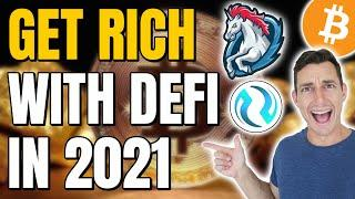 2 DEFI CRYPTOS TO WATCH 2021 | Get 'RICH' FAST with Small Cap Defi Altcoins INJ, 1INCH