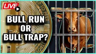 Bitcoin Price recovers back over $31k! Is this a Bull trap or a Bull run? Coffee N Crypto Live