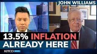 ShadowStats' John Williams: Why inflation now is really 13.5% and will get higher (Pt. 1/2)