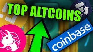 TOP EXCHANGE ALTCOINS TO SURGE! - [ Coinbase IPO Listing Shows Us This....]