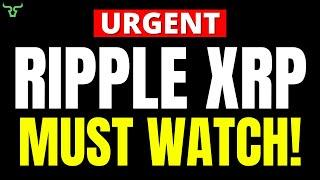 Ripple XRP HOLDERS MUST WATCH!!!