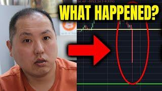 BITCOIN FLASH CRASH - WHAT HAPPENED??