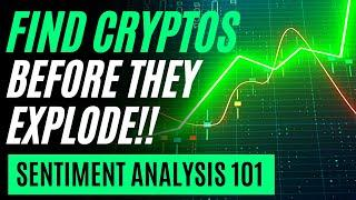 Find the Best Altcoins Before They Pump! | LunarCrush Strategy 2021