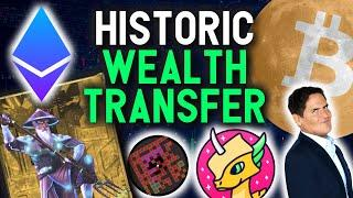 HISTORIC WEALTH TRANSFER! CRYPTO IS REPEATING 2017!