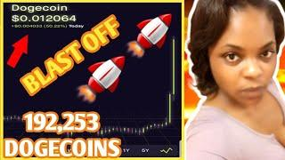 Dogecoin To The Moon| Dogecoin Cryptocurrency To .01 Again | Dogecoin Cryptocurrency News Update