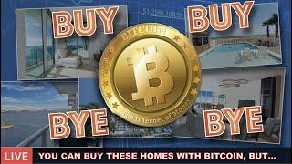 LIVE: BUYING DREAM HOMES WITH BITCOIN - HERE'S WHAT HAPPENS NEXT + UPDATED PRICE PREDICTION.