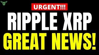 Ripple XRP GREAT NEWS!!! THIS IS AWESOME!