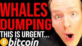 BITCOIN APPROACHING CRITICAL LEVELS!!!! [WHALES CASHING OUT] TIME SENSITIVE WATCH FAST - Programmer